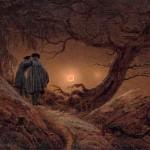 Каспар Давид Фридрих, Двое мужчин, наблюдающих луну