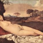 Джорджоне, Спящая Венера