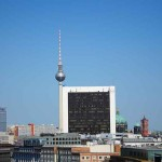Вид с крыши Рейхстага