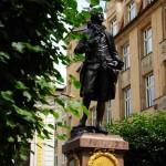 Памятник Гете в Лейпциге